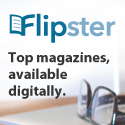 Flipster Top magazines, available digitally.